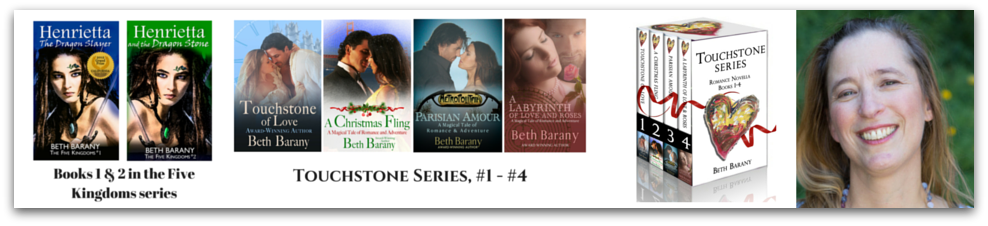 Beth Barany's YA fantasy novels and magical contemporary romances on Amazon.com
