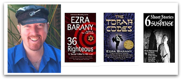 Ezra Barany's thrillers on Amazon.com